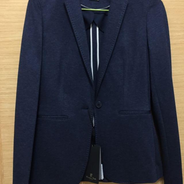 Massimo Dutti 牛仔西裝外套