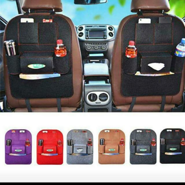 M'Baby Car Backseat Organizer Seat Pocket Protector Storage (1 Pcs) #Bajet20