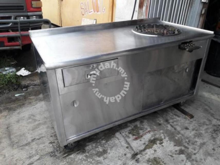 Meja Roticanai Second Hand Peralatan Dapur Di Carou