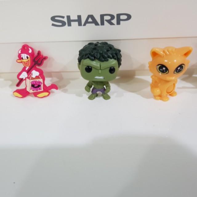Mini Cartoon Toys Toys Games Bricks Figurines On Carousell