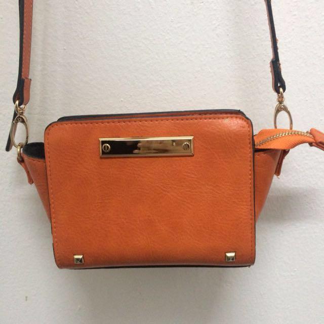 Miss selfridge mini sling bag