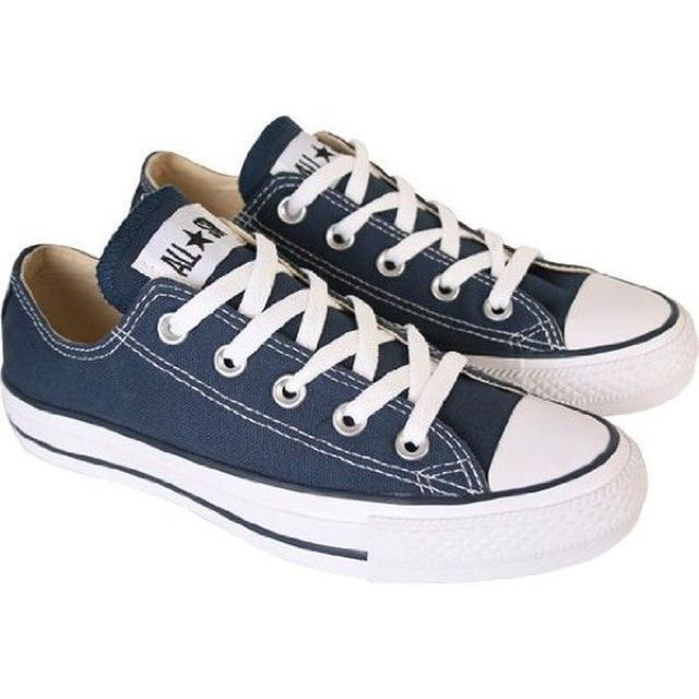 ab6bb30be3b0b Navy blue Converse