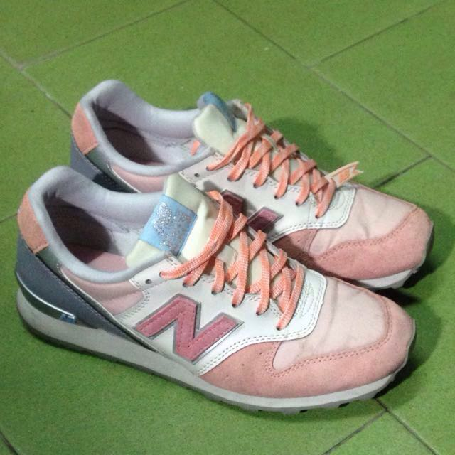 new balance 996粉紅色運動鞋休閒鞋us7.5 24.5cm nb球鞋
