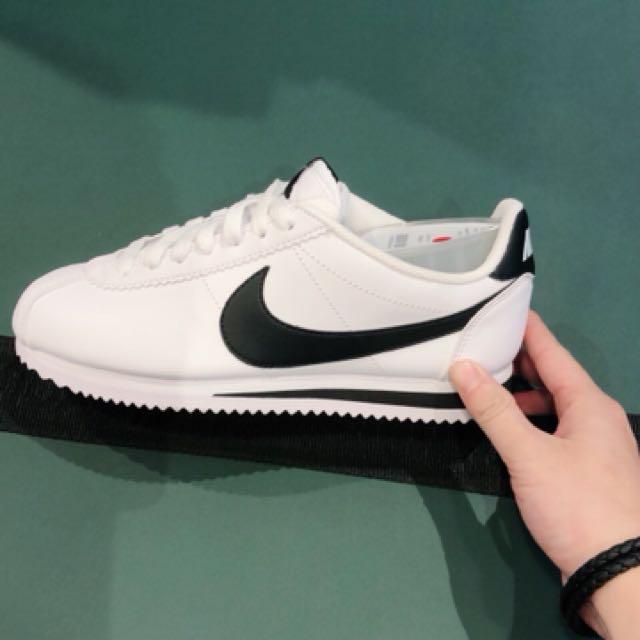 Nike阿甘鞋 黑白配色
