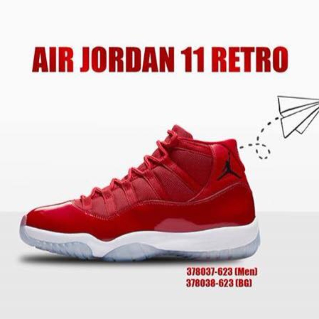 4cae4d585f7874 Nike Air Jordan 11 Retro - Chicago Red