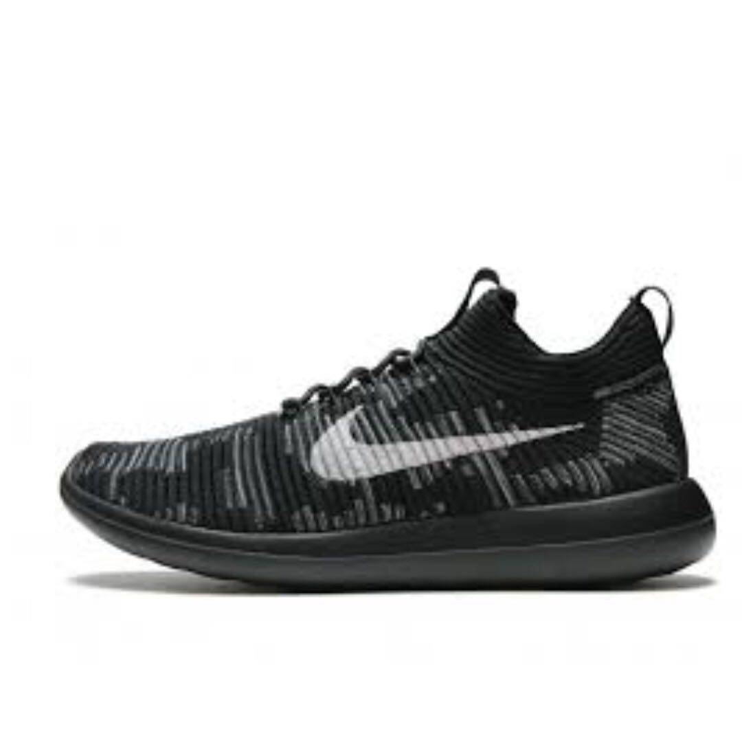 pretty nice 98e31 aa3a3 NIKE LAB ROSHE TWO FLYKNIT V2 (BLACK)  (COFFEE), Mens Fashion, Footwear,  Sneakers on Carousell