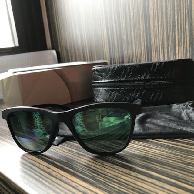 a38b45f66f7 Oakley Moonlighter Pop Polar Collection (Jade Iridium) Sunglasses ...