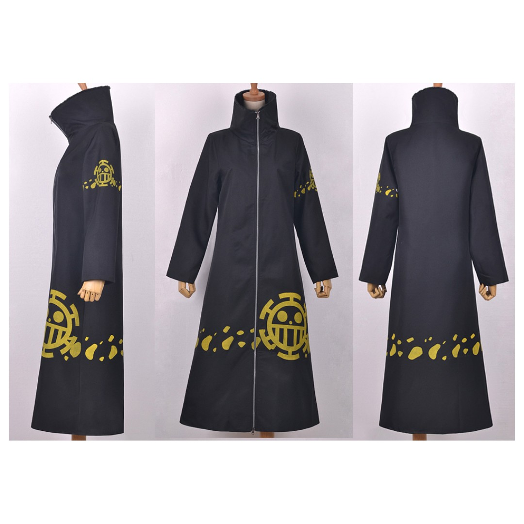 One Piece Trafalgar Law Anime Jacket Coat Cosplay Apparel Entertainment J Pop On Carousell