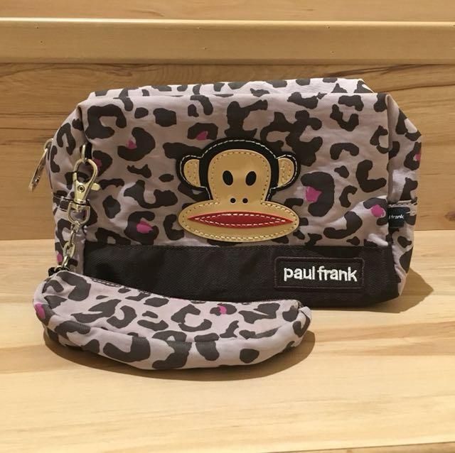 <Paul frank>大容量化妝包/包中包