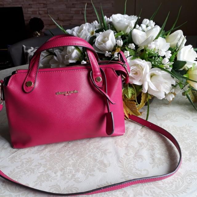 Pinky Pierre Cardin Sling Bag Women S Fashion Bags Wallets On Carou