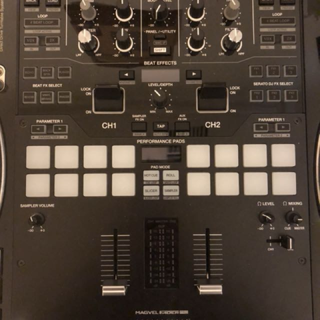 Pioneer s9 dj battle scratch mixer