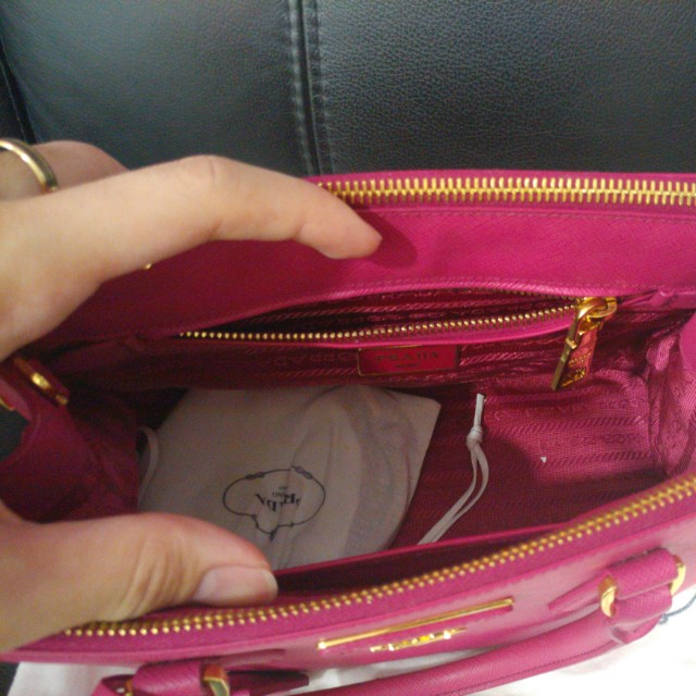 Prada Saffiano Lux Leather Bag