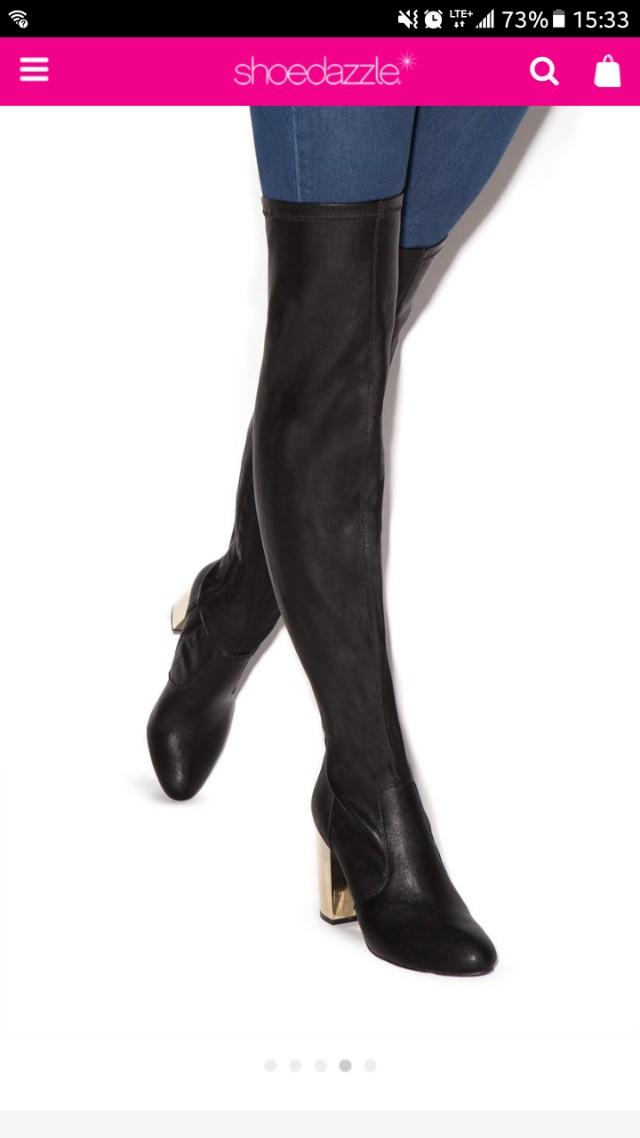 Raydan heeled boots shoedazzle