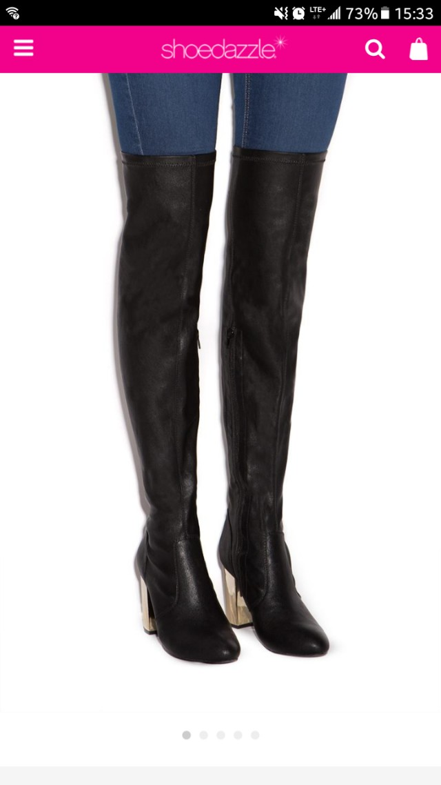 Raydan heeled boots shoedazzle