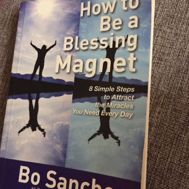 REPRICED 🔻How to be a Blessing magnet (bo sanchez)
