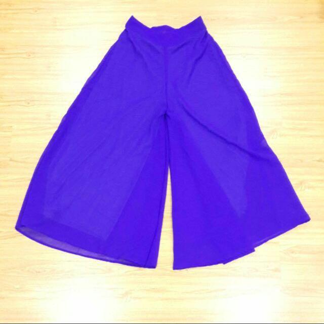 📮Royal Blue Wide Leg Palazzo