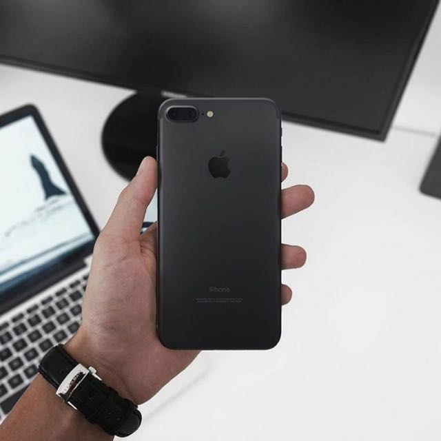a393a465896 Sell Iphone 7 Plus Black Matte My Set