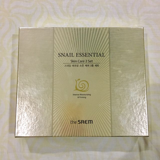Snail Essential Skin Care