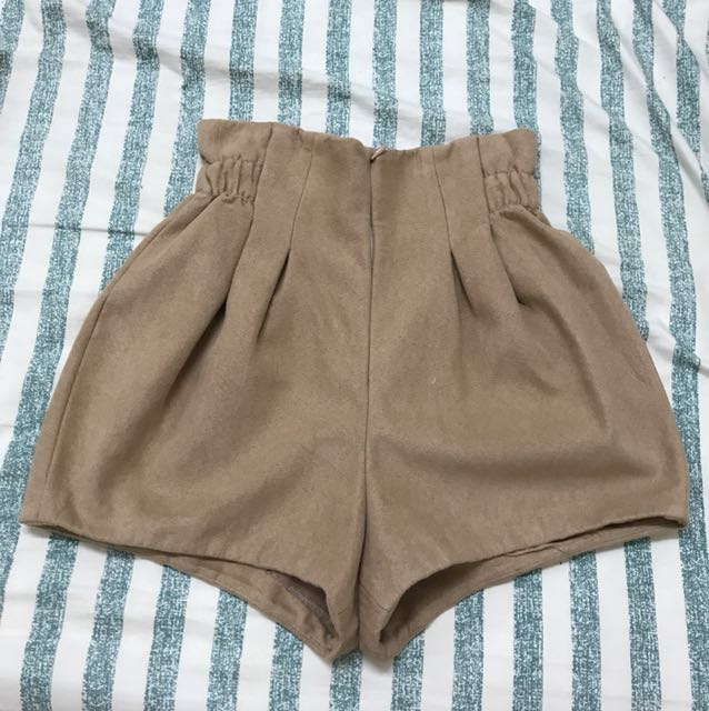 Snidel 麂皮短褲