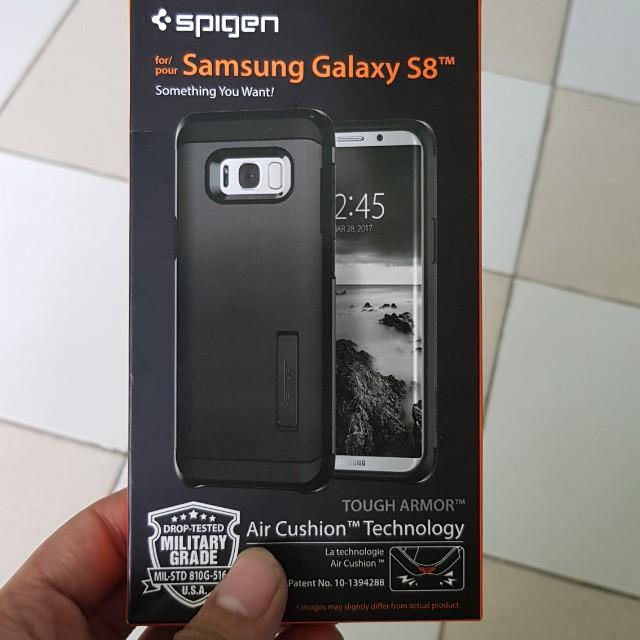 Spigen samsung s8 brand new