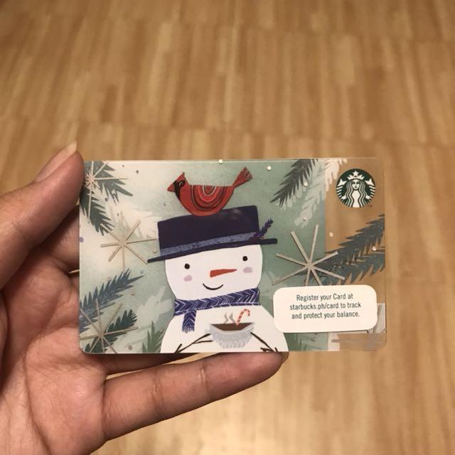Starbucks Card + 4 Stickers