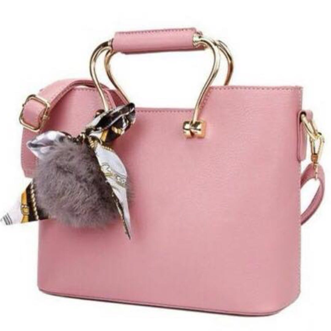 Stylish Bubblegum pink bag (strap inc)