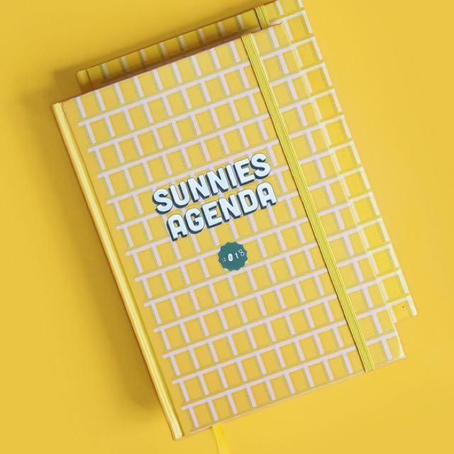 Sunnies Agenda 2018 (Sunnies Studios planner)