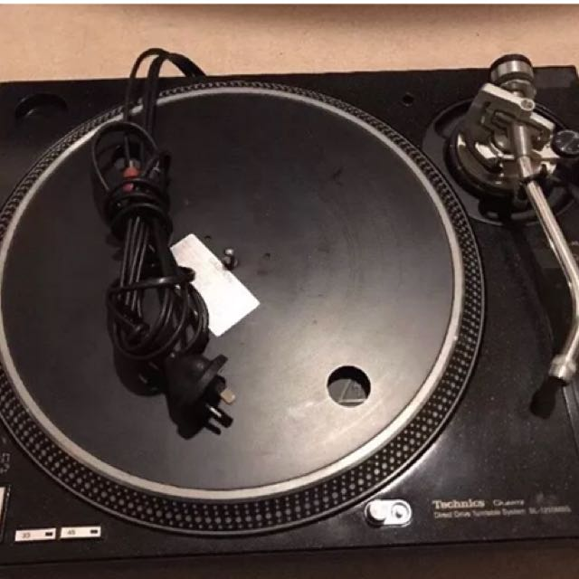 Technics turntable 1210 M5G black edition