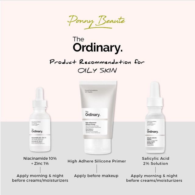 The Ordinary Products For Oily Skin Concern Health Beauty Bath Body On Carousell