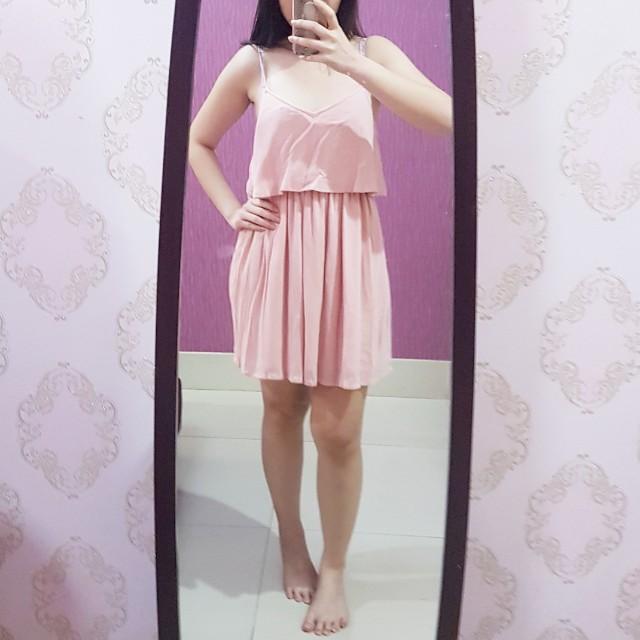 [NEW] TOPSHOP Pink Dress