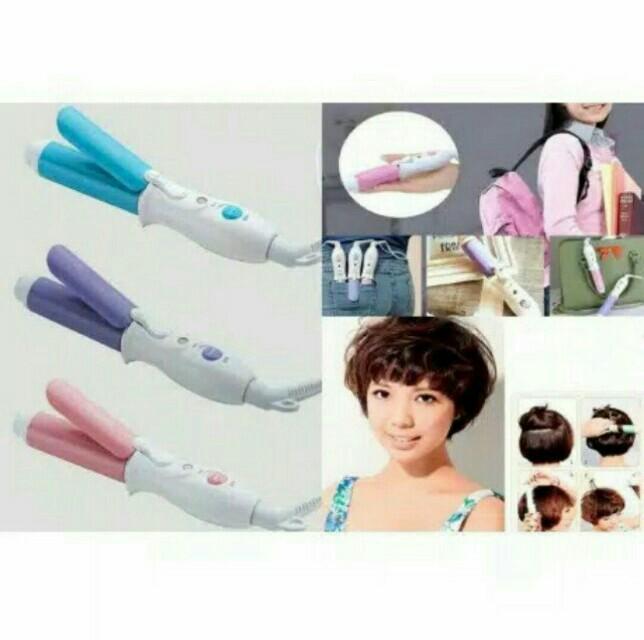 Travel Hair Curler (Pink)