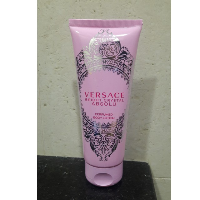 Perfumed Bright LotionHealthamp; Crystal Body Versace Beauty Absolu yvmOw8nN0