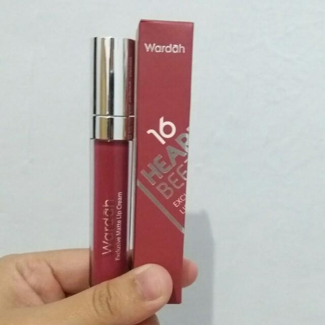 Wardah Exclusive Matte Lip Cream 03 See You Latte Dan 06 Feeling Source Source Lip Cream