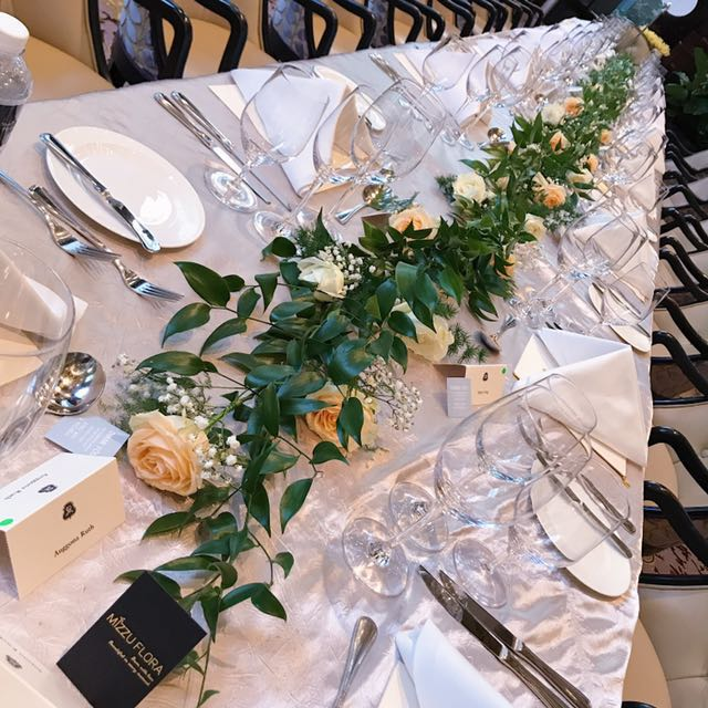 Wedding Long Table Decor | Event | Wedding | Bridal Bouquet | Table Center  Piece, Bulletin Board, Preorders On Carousell