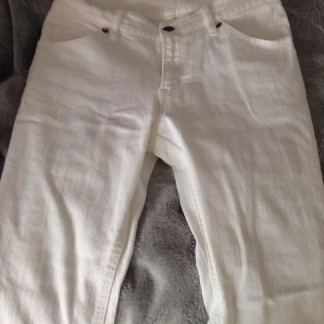 White MUJI Jeans