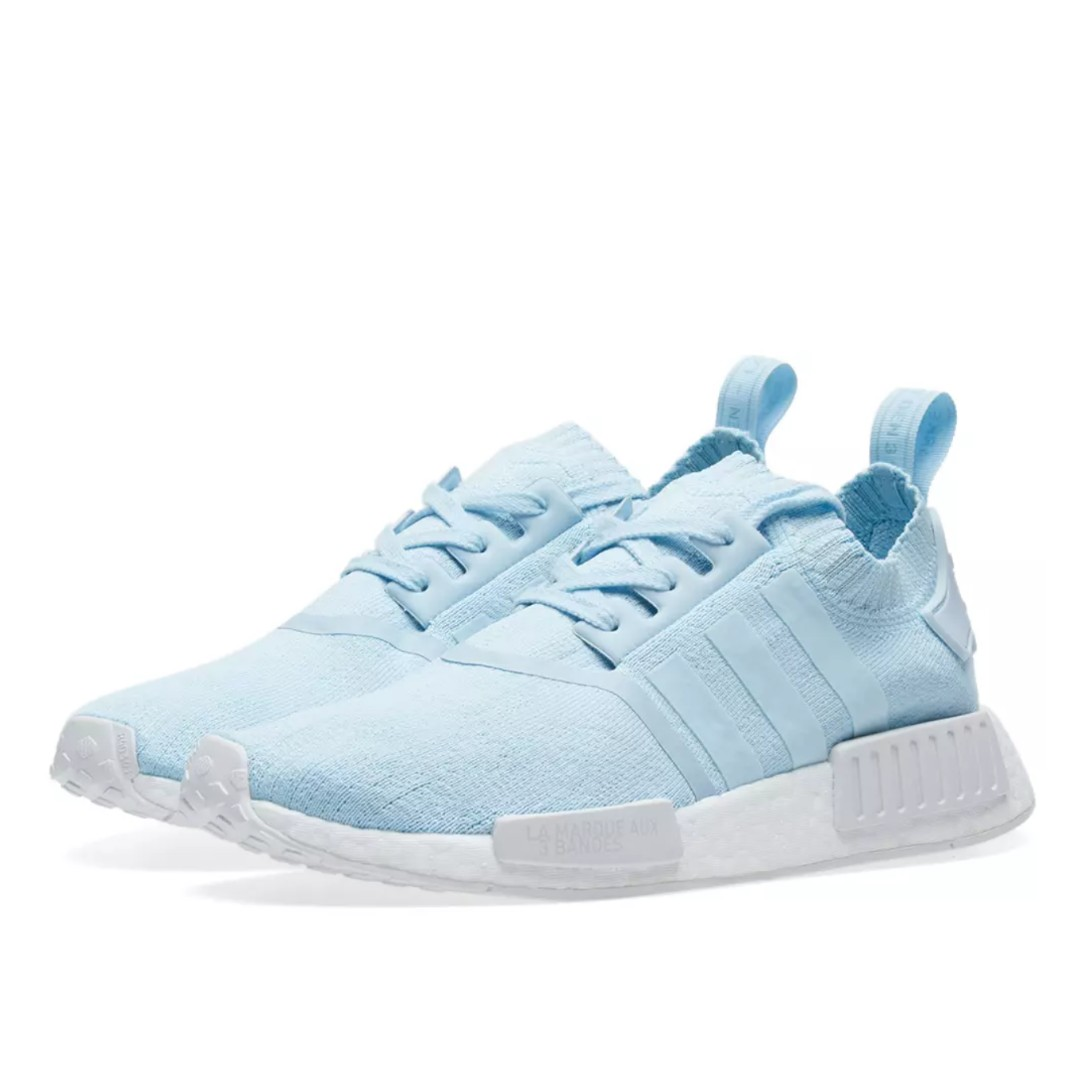 WOMEN  ADIDAS NMD R1 PK W ICE BLUE   WHITE b9199a08e7