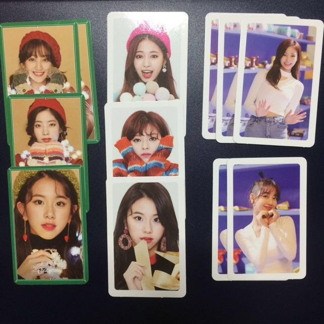 WTT Twice Merry & Happy photocards and CDs, Entertainment, K