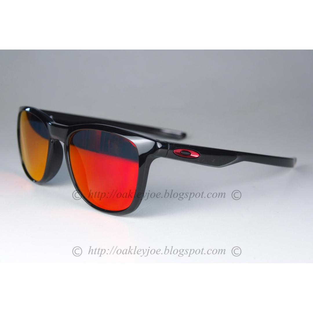 88d9122577 Sale BNIB Oakley Trillbe X polished black + ruby iridium oo9340-02 ...