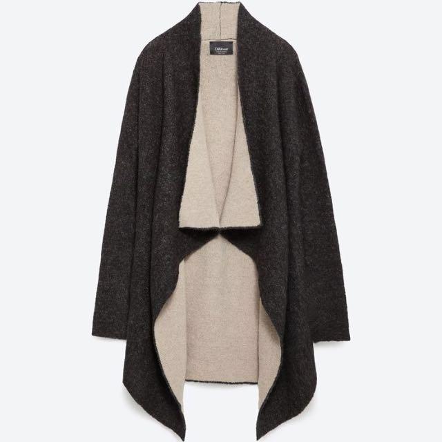 Zara Knit Outerwear Jacket