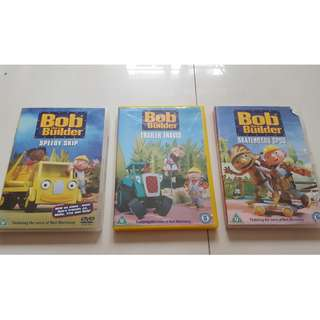 Bob the Builder DVDs
