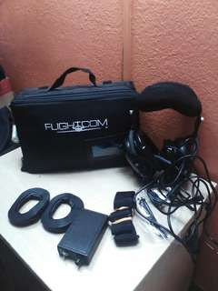 Flight Com Headphones for pilot