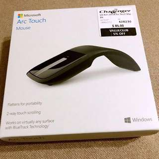 (BNIB) Wireless Microsoft Arc Touch Mouse