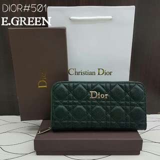Lady Dior Purse Emerald Green