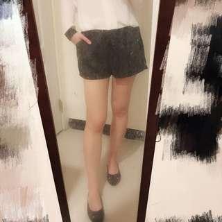 🚚 黑色西裝彈性短褲