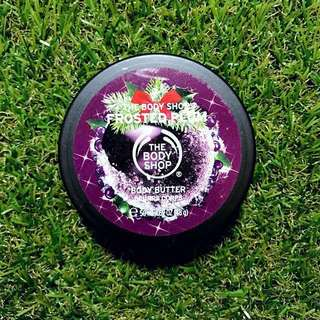 🌞BN The Body Shop Frosted Plum Body Butter 50ml