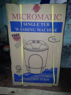 Micromatic Single Tub Washing Machine MWM-850