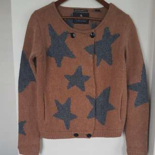 Scotch maison star cardigan size 1