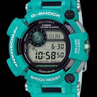深水步有門市全新正版正貨1年保養 7日有壞包換 CASIO G-SHOCK Frogman gwf-d1000mb-3