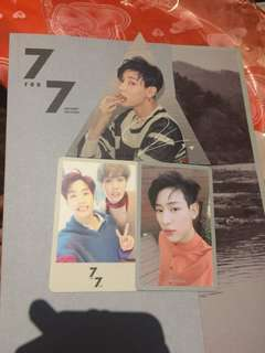 WTT GOT7 7for7 Present Edition