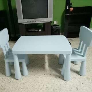 Meja  untuk  kanak kanak untuk  Di jual